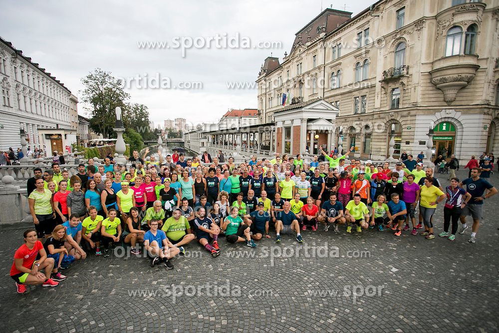 Tek preko mostov Ljubljanice, on September 4, 2017 in Ljubljana, Slovenia. Photo by Urban Urbanc / Sportida