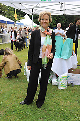 JENNY SEAGROVE at the Macmillan Dog Day in aid of Macmillan Cancer Support held at the Royal Hospital Chelsea, London on 8th July 2008.<br />