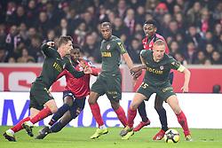 March 15, 2019 - Lille, France, FRANCE - GLIK Kamil (Monaco) vs Rafael Alexandre Da Conceicao Leao  (Credit Image: © Panoramic via ZUMA Press)