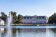 Europa, Deutschland, Duesseldorf, Schloss Benrath, Nordseite.<br /> <br /> Europe, Germany, Duesseldorf, castle Benrath, north side.