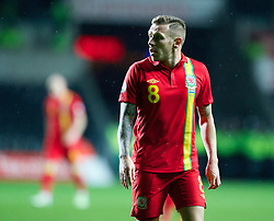 SWANSEA, WALES - Tuesday, March 26, 2013: Wales' Craig Bellamy in action against Croatia during the 2014 FIFA World Cup Brazil Qualifying Group A match at the Liberty Stadium. (Pic by Kieran McManus/Propaganda)