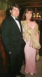 MR CHARLIE BROOKS and his close friend MRS MIRIAM <br /> FRANCOME, at a party in London on 9th May 2000.ODR 21