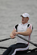 Caversham, Nr Reading, GREAT BRITAIN, Marcus BATEMAN, BIRO Sculling Test, invited scullers under go a time trial and then a six abreast race over 2000 meters at the British International Rowing complex at Caversham Lake, on Wed 22.11. 2006. [Photo, Peter Spurrier/Intersport-images]. Rowing course: GB Rowing Training Complex, Redgrave Pinsent Lake, Caversham, Reading