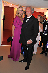 KATE DRIVER and GRAYDON CARTER at the Raisa Gorbachev Foundation Gala held at the Stud House, Hampton Court, Surrey on 22nd September 22 2011