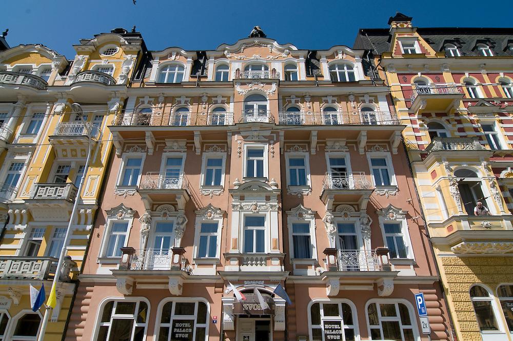 Luxury hotel. Marienbad. Czech republic.
