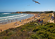 summer day at Torquay Front Beach