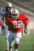 COLLEGE FOOTBALL: Stanford v Arizona, November 6, 1980 at Stanford Stadium in Palo Alto, California.  Vincent White #22.