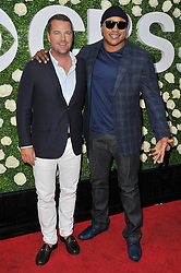 (L-R) Chris O'Donnell and LL Cool J together at the 2017 CBS Television Studios Summer Soiree TCA Party held at the CBS Studio Center – New York Street in Studio City, CA on Tuesday, August 1, 2017. (Photo By Sthanlee B. Mirador) *** Please Use Credit from Credit Field ***