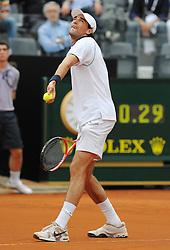 27.04.2010, Foro Italico, Rom, ITA, ATP Masters Turnier Rom im Bild  Jeremy Chardy (Fra).., EXPA Pictures © 2010, PhotoCredit: EXPA/ InsideFoto/ A. Baldassarre / SPORTIDA PHOTO AGENCY
