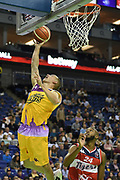 Jack Isenbarger of London Lions during the Betway British Basketball All-Stars Championship at the O2 Arena, London, United Kingdom on 24 September 2017. Photo by Martin Cole.