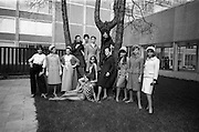 05/04/1965<br /> 04/05/1965<br /> 05 April 1965<br /> Second Irish Export Fashion Fair opened at the Intercontinental Hotel, Dublin. Picture shows some of the models taking part in the Fair's fashion parades.