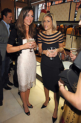 Left to right, KATE MIDDLETON and EMILY MAITLIS at a party to celebrate the publication of 'Young Stalin' by Simon Sebag-Montefiore at Asprey, New Bond Street, London on 14th May 2007.<br />
