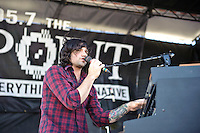 Crash Kings perform at Pointfest 26 at Verizon Wireless Amphitheater in St. Louis on June 6, 2010