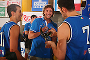 DESCRIZIONE : Bormio Torneo Internazionale Maschile Diego Gianatti Italia Francia <br /> GIOCATORE : Matteo Soragna Luca Infante Coppa <br /> SQUADRA : Nazionale Italia Uomini Italy <br /> EVENTO : Raduno Collegiale Nazionale Maschile <br /> GARA : Italia Francia Italy France <br /> DATA : 02/08/2008 <br /> CATEGORIA : Premiazione <br /> SPORT : Pallacanestro <br /> AUTORE : Agenzia Ciamillo-Castoria/S.Silvestri <br /> Galleria : Fip Nazionali 2008 <br /> Fotonotizia : Bormio Torneo Internazionale Maschile Diego Gianatti Italia Francia <br /> Predefinita :