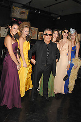 ROBERTO CAVALLI and models at Andy & Patti Wong's Chinese new Year party held at County Hall and Dali Universe, London on 26th January 2008.<br /> <br /> NON EXCLUSIVE - WORLD RIGHTS (EMBARGOED FOR PUBLICATION IN UK MAGAZINES UNTIL 1 MONTH AFTER CREATE DATE AND TIME) www.donfeatures.com  +44 (0) 7092 235465