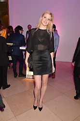 LARA STONE at the Alexandra Shulman and Leon Max hosted opening of Vogue 100: A Century of Style at The National Portrait Gallery, London on 9th February 2016.