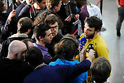 DESCRIZIONE : HandbaLL Cup Finale EHF Homme<br /> GIOCATORE : Arnaud SIFFERT Journaliste<br /> SQUADRA : Nantes <br /> EVENTO : Coupe EHF Finale<br /> GARA : NANTES Rhein Neckar<br /> DATA : 19 05 2013<br /> CATEGORIA : Handball Homme<br /> SPORT : Handball<br /> AUTORE : JF Molliere <br /> Galleria : France Hand 2012-2013 Action<br /> Fotonotizia : HandbaLL Cup Finale EHF Homme<br /> Predefinita :
