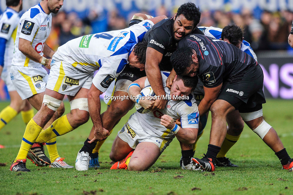 Benjamin KAYSER - 25.01.2015 -  Clermont / Saracens - European Champions Cup <br />