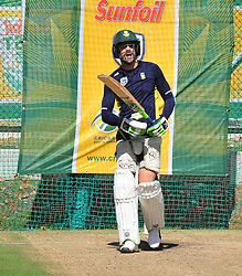 Cape Town-180321 Proteas captain Faf du Plessie during a practice session at Newlands cricket stadium.The Proteas will play their third test against Australia this weekend .Photograph:Phando Jikelo/African News Agency/ANA