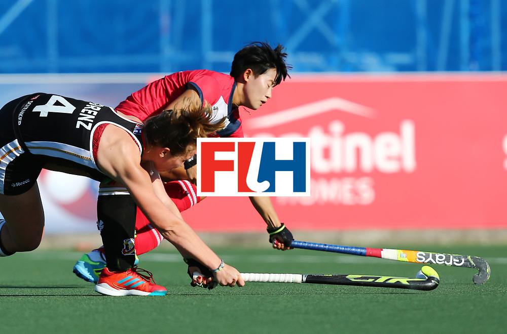 New Zealand, Auckland - 22/11/17  <br /> Sentinel Homes Women&rsquo;s Hockey World League Final<br /> Harbour Hockey Stadium<br /> Copyrigth: Worldsportpics, Rodrigo Jaramillo<br /> Match ID: 10303 - GER vs KOR<br /> Photo: (4) LORENZ Nike