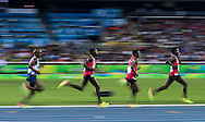 Mo Farah of Great Britain takes Gold to retain his title in the Men's 10,000m on day eight of the XXXI 2016 Olympic Summer Games in Rio de Janeiro, Brazil.<br /> Picture by EXPA Pictures/Focus Images Ltd 07814482222<br /> 13/08/2016<br /> *** UK & IRELAND ONLY ***<br /> <br /> EXPA-GRO-160814-5276.jpg