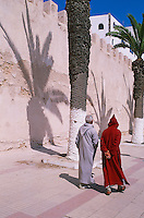 Maroc, Essaouira, Patrimoine mondial de l'UNESCO, les remparts // Morocco, Medina of Essaouira, Atlantic coast, Unesco world heritage, city wall
