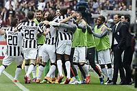 esultanza gol Andrea Pirlo goal celebration<br /> Torino 26-04-2015 Stadio Olimpico, Football Calcio Serie A Torino - Juventus Foto Image Sport / Insidefoto
