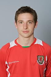 SWANSEA, WALES - Monday, March 30, 2009: Wales' Under-21 Joe Allen. (Photo by David Rawcliffe/Propaganda)