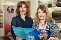 21/05/2013 Repro free. Trisha Buddin and Heike Vornhagen Galway One World Centre who are directors of the GAlway African Film Festival which runs the 24th/25/and 26th MAy in the Huston School of film and digital media  at the launch of Africa Day 2013 at Galway City Museum by Galway City Council and Irish Aid. .Africa Day falls on 25th May each year, with events taking place around the country from 20th-27th May.  It is an initiative of the African Union, and aims to celebrate African diversity and success and the cultural and economic potential of the continent.  In Ireland, events to mark Africa Day are supported by Irish Aid, the Government's programme for overseas development and Galway City Council.. .The events planned by Galway City Council will take place on 21st May and from 24th to 26th May.  Galway City Council are launching Africa Day 2013 by Mayor of Galway City Cllr Terry O'Flaherty on Tuesday 21st May @ 11:00 a.m.at the Galway City Museum with inputs from the African Ambassadors Network, Africian Film Festival, NUIG and music by South Africian Choirs. Picture:Andrew Downes