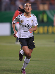 16.06.2011, Bruchwegstadion, Mainz, FIFA WOMENS WORLDCUP 2011, Deutschland (GER) vs. Norwegen (NOR), im Bild  Fatmire Bajramaj (Deutschland #19, Frankfurt) waehrend eines Vorbereitungsspiels // during a friendly match on 2011/06/16, Bruchwegstadion, Mainz, Germany. + EXPA Pictures © 2011, PhotoCredit: EXPA/ nph/  Roth       ****** out of GER / SWE / CRO  / BEL ******