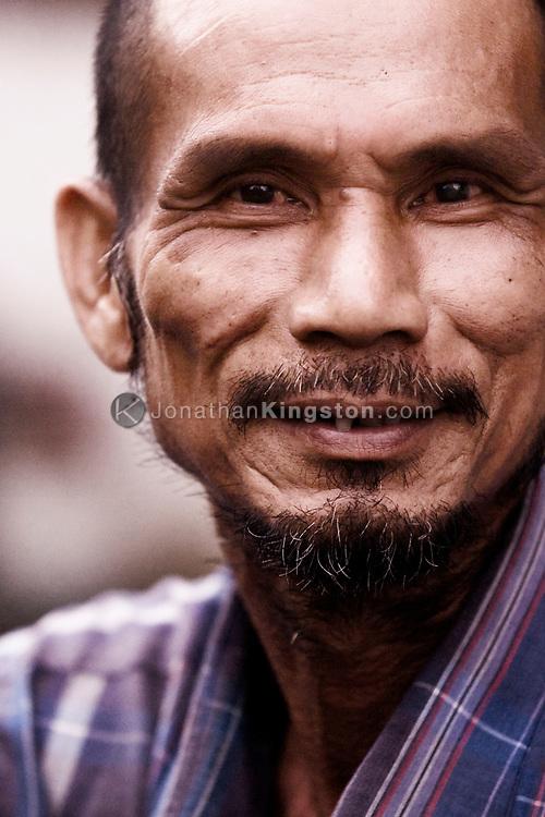 Portrait of a adult man, Ho Chi Minh city, Vietnam.