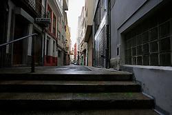 SPAIN GALICIA LA CORUNA 26AUG11 - Street in the old city centre of La Coruna, Galicia, Spain.....jre/Photo by Jiri Rezac....© Jiri Rezac 2011