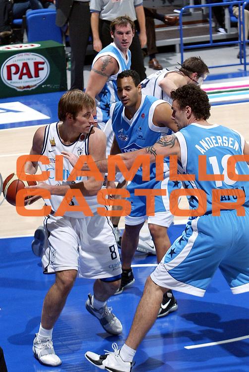 DESCRIZIONE : BOLOGNA CAMPIONATO LEGA A1 2004-2005<br /> GIOCATORE : SMODIS<br /> SQUADRA : CLIMAMIO FORTITUDO BOLOGNA<br /> EVENTO : CAMPIONATO LEGA A1 2004-2005<br /> GARA : CLIMAMIO BOLOGNA-POMPEA NAPOLI<br /> DATA : 21/11/2004<br /> CATEGORIA : Passaggio<br /> SPORT : Pallacanestro<br /> AUTORE : Agenzia Ciamillo-Castoria/L.Villani
