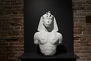 "Venezia - Punta della Dogana . La mostra di Damien Hirst: ""Tresaures from the Wreck of Unbelievable. Unknow Pharaon"""
