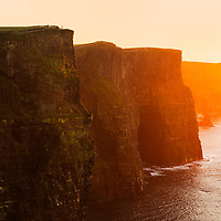 Standing over 700 feet straight up, the Cliffs of Moher elicit that feeling of just how grand and powerful this planet is.