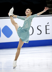 Yelim Kin of South Korea competes in the Ladies Free Skating during the ISU Four Continents Figure Skating Championship at the Honda Center in Anaheim, California the United States on February 8, 2019. (Credit Image: © Zhao Hanrong/Xinhua via ZUMA Wire)