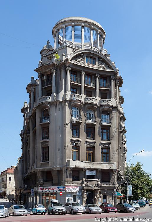 Agricola building, Bucharest. Architect: Petre Antonescu Built: 1928-1930