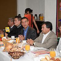 Toluca, México.- Erick Vladimir Cedillo Hinojosa, presidente municipal de Rayón, anuncio la realización del Festival Cultural del Molinillo y el Chocolate 2014, del 15 al 22 de octubre. Agencia MVT / Crisanta Espinosa