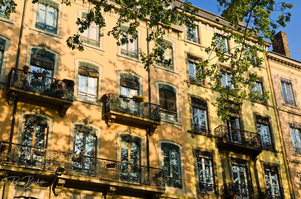 Apartment building, Lyon, France (UNESCO World Heritage Site)