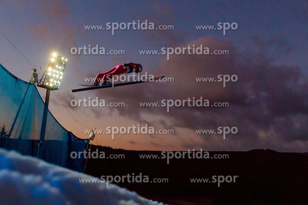 02.12.2016, Vogtland Arena, Klingenthal, GER, FIS Weltcup Ski Sprung, Klingenthal, im Bild Sebastian Colloredo (ITA) // Sebastian  Colloredo of Italy during the mens FIS Skijumping World Cup at the Vogtland Arena in Klingenthal, Germany on 2016/12/02. EXPA Pictures © 2016, PhotoCredit: EXPA/ JFK