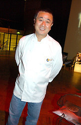 Top chef NOBU at a party to celebrate the global launch of the Moet & Chandon Vintage 1999 hell at Lawrence Hall, Royal Horticultural Hall, London SW1 on 22nd March 2005.<br /><br />NON EXCLUSIVE - WORLD RIGHTS
