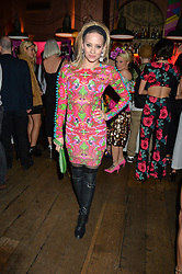 KIMBERLY WYATT at a party to celebrate the launch of fashion retailer WeKoko.com held at Sketch, 9 Conduit Street, London on 13th April 2016.