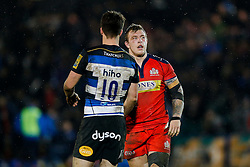 Bristol United Flanker Max Crumpton looks dejected after Bath United win the match - Mandatory byline: Rogan Thomson/JMP - 28/12/2015 - RUGBY UNION - The Recreation Ground - Bath, England - Bath United v Bristol United - Aviva A League.