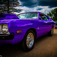 A classic Dodge Demon.