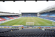 The Ewood Park Pitch before the Sky Bet Championship match between Blackburn Rovers and Leeds United at Ewood Park, Blackburn, England on 12 March 2016. Photo by Mark Pollitt.