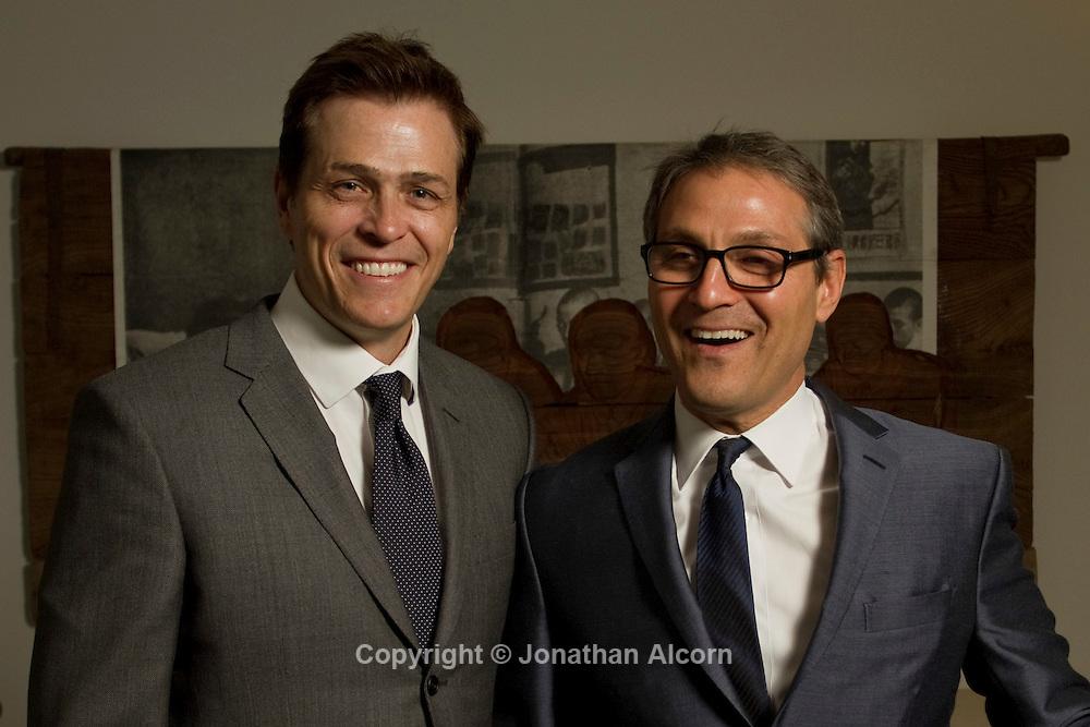 Patrick Whitesell and Ari Emanuel, senior partners at William Morris Endeavor
