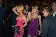 NELL HUDSON; SARAH LOVATT. The Tatler Little Black Book party. Tramp. 40 Jermyn St. London SW1 *** Local Caption *** -DO NOT ARCHIVE-© Copyright Photograph by Dafydd Jones. 248 Clapham Rd. London SW9 0PZ. Tel 0207 820 0771. www.dafjones.com.