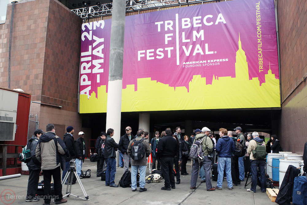 Atmosphere at The 2009 Tribeca Film Festival Opening Press Conference Kick-Off held at The Borough of Manhattan Community College in New york City on April 21, 2009