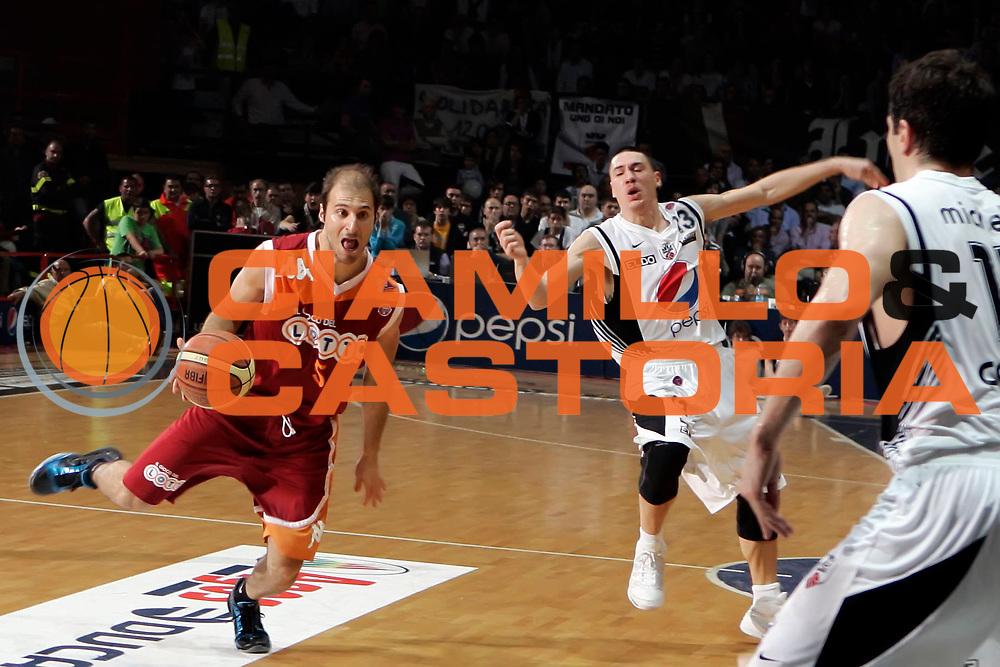 DESCRIZIONE : Caserta Lega A 2009-10 Playoff Quarti di Finale Gara 2 Pepsi Caserta Lottomatica Virtus Roma<br /> GIOCATORE : Jacopo Giachetti<br /> SQUADRA : Lottomatica Virtus Roma<br /> EVENTO : Campionato Lega A 2009-2010 <br /> GARA : Pepsi Caserta Lottomatica Virtus Roma<br /> DATA : 23/05/2010<br /> CATEGORIA : palleggio<br /> SPORT : Pallacanestro <br /> AUTORE : Agenzia Ciamillo-Castoria/A.De Lise<br /> Galleria : Lega Basket A 2009-2010 <br /> Fotonotizia : Caserta Lega A 2009-10 Playoff Quarti di Finale Gara 2 Pepsi Caserta Lottomatica Virtus Roma<br /> Predefinita :
