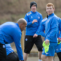 St Johnstone Training....Fraser Wright pictured in training<br /> Picture by Graeme Hart.<br /> Copyright Perthshire Picture Agency<br /> Tel: 01738 623350  Mobile: 07990 594431